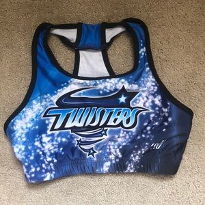 Maryland Twisters sports bra
